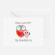 Owl Grandkids Greeting Card