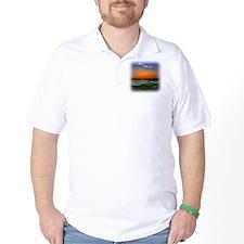Monet Sunrise over 18 Green T-Shirt