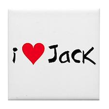 Jack - Tile Coaster