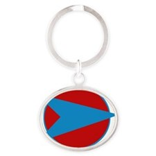 blakes 7 color Oval Keychain
