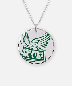 flying money Necklace