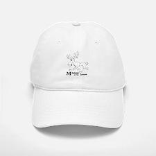 Moose On The Loose Baseball Baseball Cap
