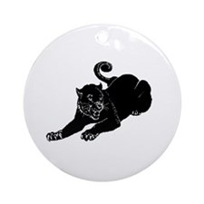 Black Panthers Ornament (Round)