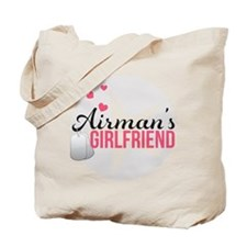 Airman's Girlfriend Tote Bag