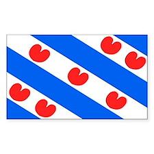 Friesland Rectangle Decal