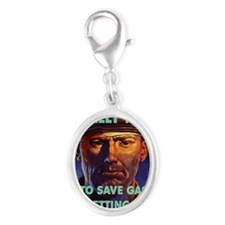 HAVE YOU REALLY TRIED TO SAVE G Silver Oval Charm