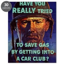 HAVE YOU REALLY TRIED TO SAVE GAS BY GETTIN Puzzle