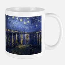 Starry Night Over the Rhone - Van Gogh - c1888 Mug