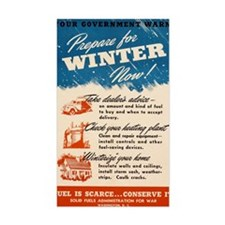 PREPARE FOR WINTER NOW! (SOLID Decal