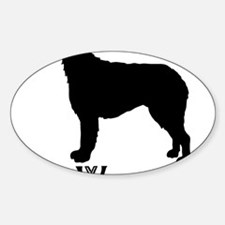 Irish Wolfhound Decal