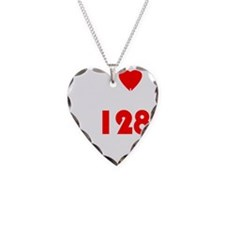 My Heart Beats At 128 BPM Ver Necklace