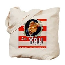 ARE YOU DOING ALL YOU CAN? (GENERAL CABLE Tote Bag