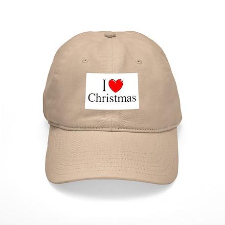 """I Love (Heart) Christmas"" Cap"