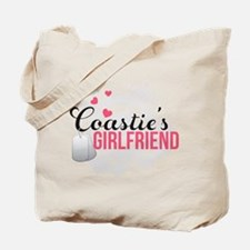 Coastie's Girlfriend Tote Bag