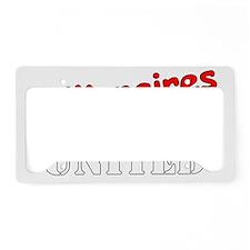 Billionaires United License Plate Holder