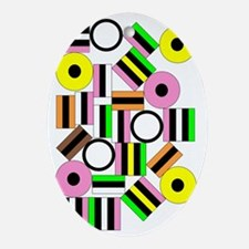 Liquorice All-Sorts V Oval Ornament