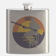 Rock and Row Flask