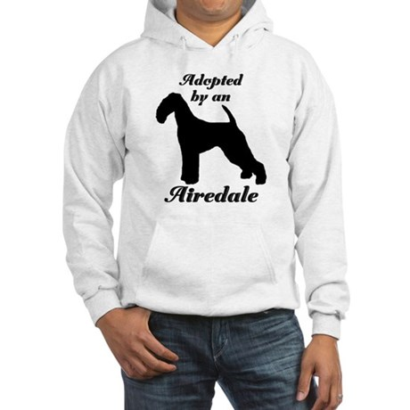 ADOPTED by Airedale Hooded Sweatshirt