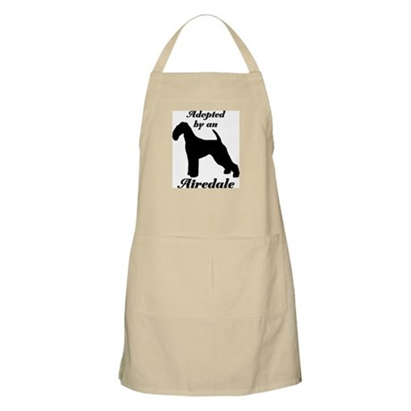 ADOPTED by Airedale BBQ Apron