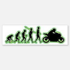 Bike-Rider4 Bumper Bumper Sticker