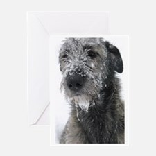 Irish Wolfhound Greeting Card