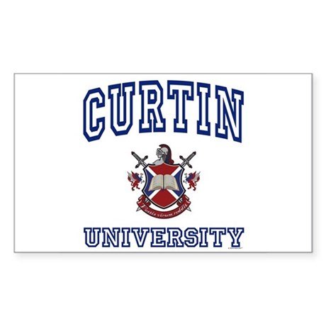CURTIN University Rectangle Sticker