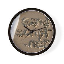 sandscript.net Wall Clock