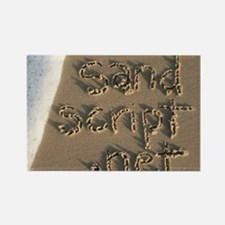 sandscript.net Rectangle Magnet