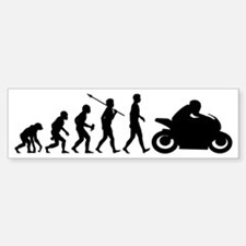 Bike-Rider2 Sticker (Bumper)