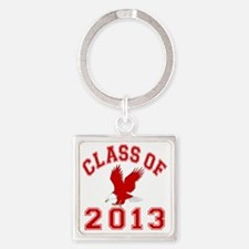 Class Of 2013 Eagle Square Keychain