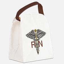 RN Medical Symbol Canvas Lunch Bag