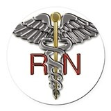 Rn Round Car Magnets