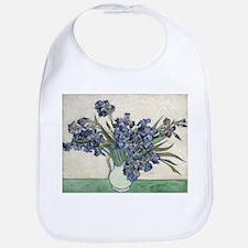 Vase with Irises - Van Gogh - c1890 Cotton Baby Bi