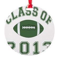 Class Of 2013 Football Ornament