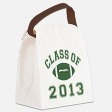 Class Of 2013 Football Canvas Lunch Bag