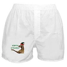 Vizsla Christmas Boxer Shorts