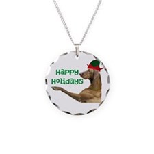 Vizsla Christmas Necklace