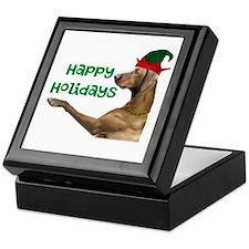 Vizsla Christmas Keepsake Box