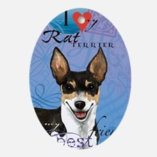 rat-iPad Oval Ornament