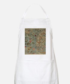 carta marina map Apron