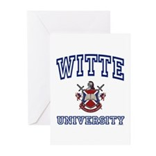 WITTE University Greeting Cards (Pk of 10)