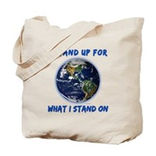 Earth Stand Tote Bag