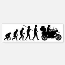 Motorcycle-Traveller2 Bumper Bumper Sticker