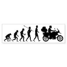 Motorcycle-Traveller2 Bumper Sticker