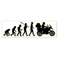 Motorcycle-Traveller3 Bumper Sticker