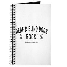 Deaf & Blind Dogs Rock Journal