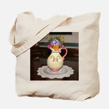 Mary Engelbreit Pitcher with Flowers Tote Bag