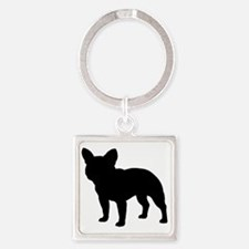 frenchbulldog Square Keychain
