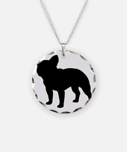 frenchbulldog Necklace Circle Charm
