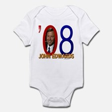 John Edwards '08 Signature Onesie